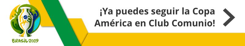 !Ya puedes seguir la Copa América en Club Comunio